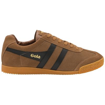 Gola Harrier Men Tobacco/Black Suede