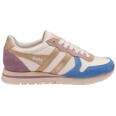 Gola Women Daytona Off White/Vista Blue/Gold/Lily