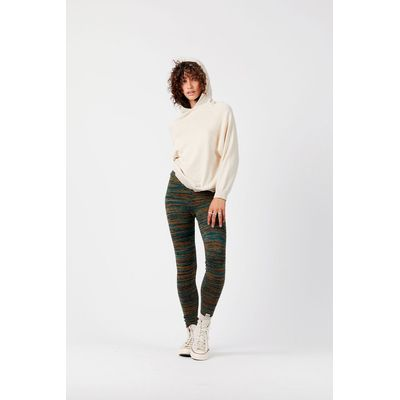 KOMODO - BROLDILLO - Organic Cotton Leggings - Emerald