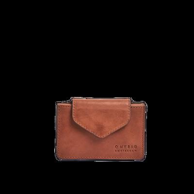 O MY BAG -  Harmonica Wallet - Cognac Classic Leather