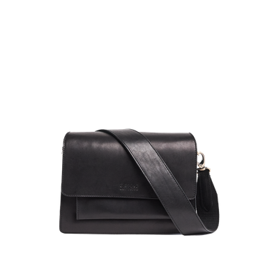 O MY BAG - Harper - Black Classic Leather