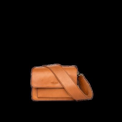 O MY BAG - Harper Mini - Cognac Classic Leather
