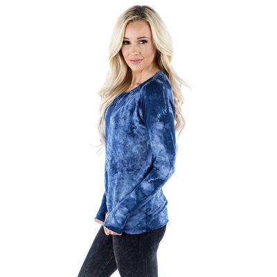 LVR - Raw Pullover - Crystal BLUE