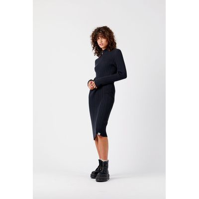 KOMODO - IRINA - Oragnic Cotton Dress - Black