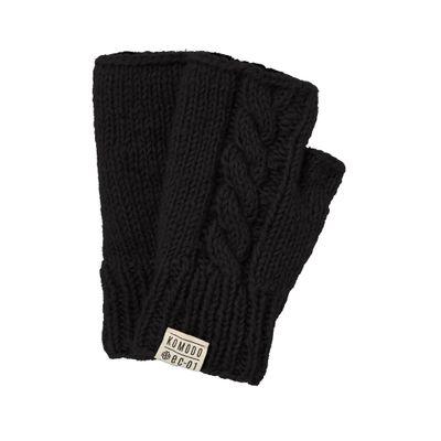 KOMODO - DANCER - Hand Knitted Lambswool Mittens - Black