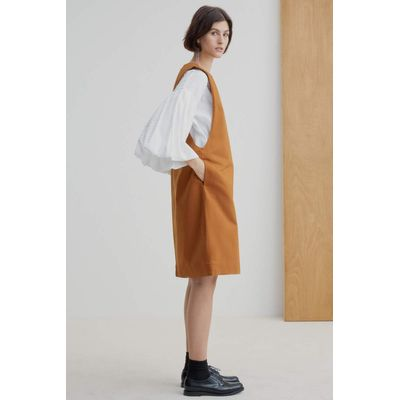 KOWTOW - FORM DRESS - BRASS