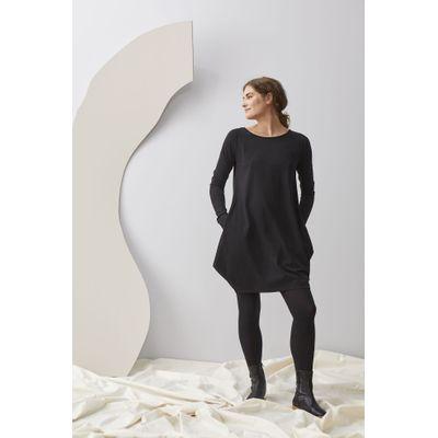 PAPU - KANTO DRESS - BLACK