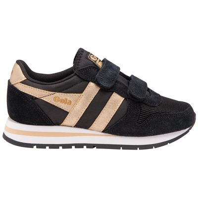 Gola Kids Daytona Mirror Black/Gold