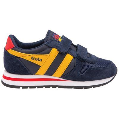 Gola Kids Daytona Navy/Sun/Red