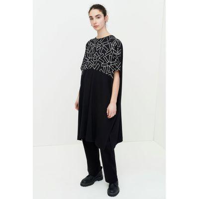 KOWTOW - HARVEST DRESS - SVARTUR