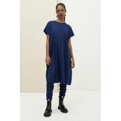 KOWTOW -  FOLDING DRESS - BLÁR