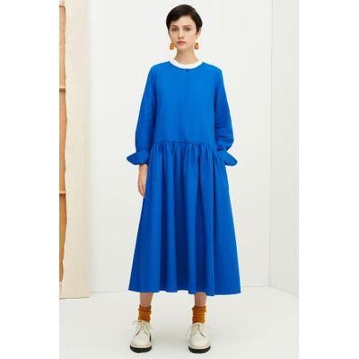 KOWTOW -  EDITH DRESS - SEABLUE