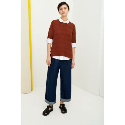 KOWTOW - ODYSSEY TOP - EARTH BROWN