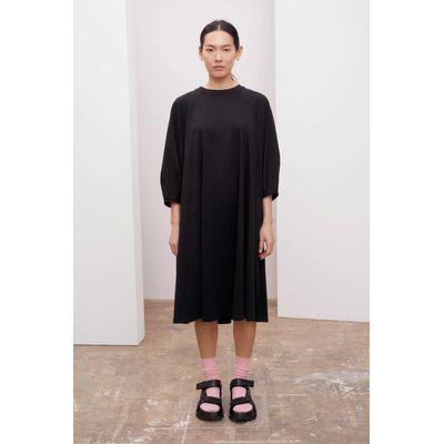 KOWTOW - RAGLAN SLEEVE DRESS - BLACK