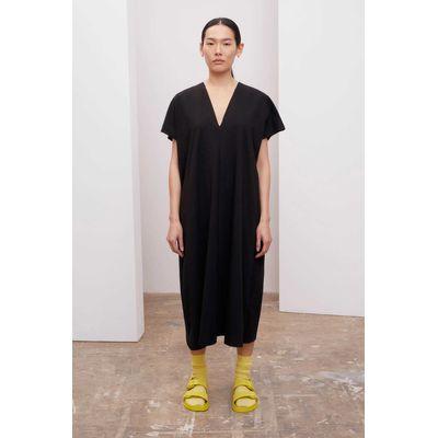 KOWTOW - SQUARE DRESS - BLACK