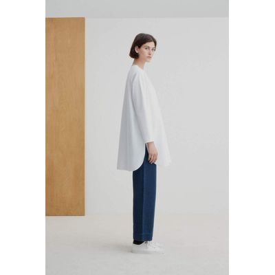 KOWTOW - DOCUMENT SHIRT - HVÍT