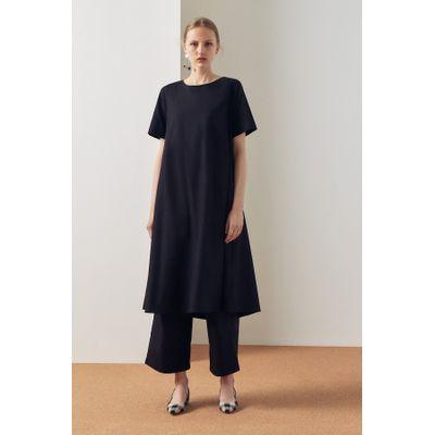 KOWTOW - TRIANGLE DRESS - BLACK