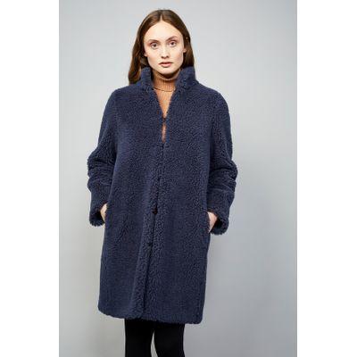 LANGERCHEN - COAT TIFFIN - STEEL BLUE