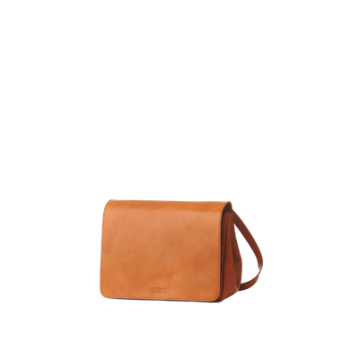 O MY BAG -  Lucy - Cognac Classic Leather
