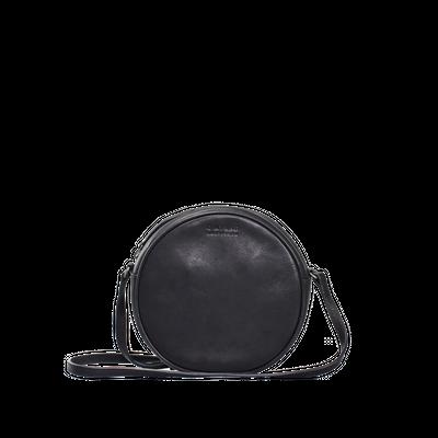 O MY BAG -  Luna Bag - Black Soft Grain Leather