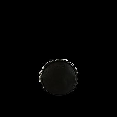 O MY BAG - Luna Purse - Black Soft Grain Leather