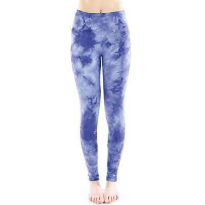 LVR - Cuffed Leggings - Sapphire