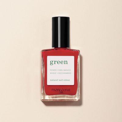 Manucurist - Green - Poppy Red