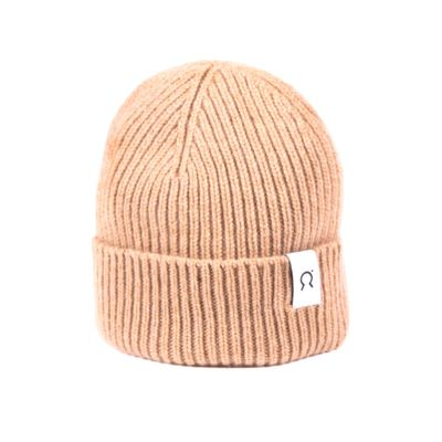 RIFÓ - Marcello regenerated cashmere hat - Beige Cork