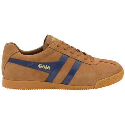 Gola Harrier Men Carmel/Navy Suede
