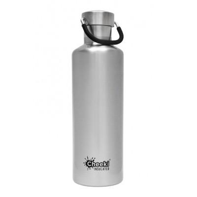 Cheeki flaska einangruð Silver (silfur) 600 ml
