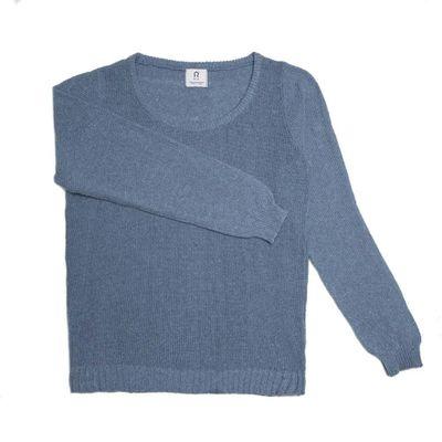 RIFÓ - Woman Cotton Jersey - Atlantic blue