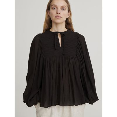 SKALL STUDIO -   Nadja Blouse - Black