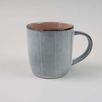 Nkuku - Bao Ceramic - Handled Mug - Dusty Pink