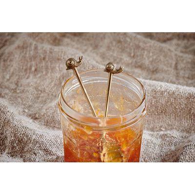 Nkuku - Snail - One Brass Spoon