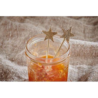 Nkuku - Star - One Brass Spoon