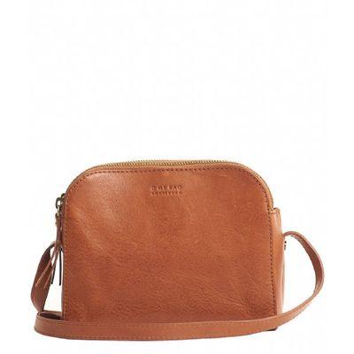 O MY BAG - Emily - Leather Strap - Cognac Stromboli