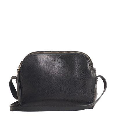 O MY BAG - Emily - Leather Strap - Black Stromboli