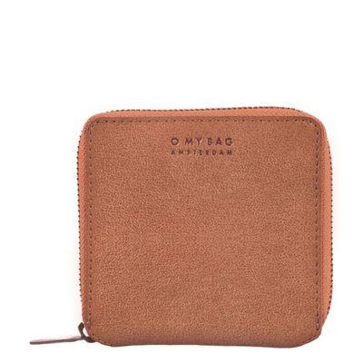 O MY BAG - Sonny Square Wallet - Camel - Hunter