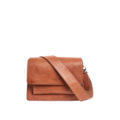 O MY BAG - Harper - Cognac Classic Leather