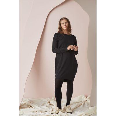 PAPU - OVAL DRESS - BLACK