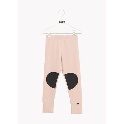 PAPU - PATCH LEGGINGS - Dusty Pink/Black