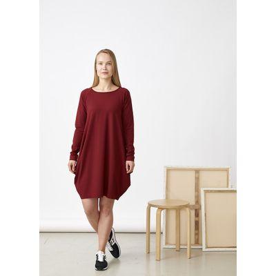 PAPU - KANTO DRESS - DEEP RED