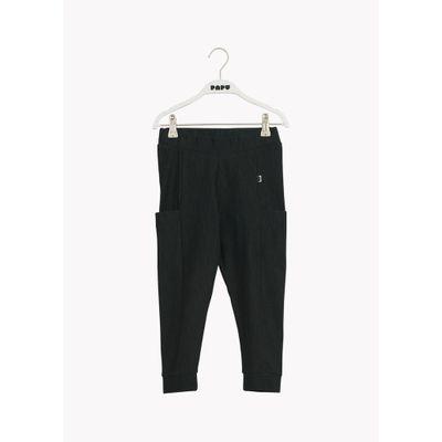 PAPU - THIGH POCKET PANTS - School Green - Tweed Effect