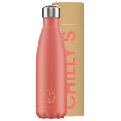 Chilly's flaska Coral Pastel 500 ml