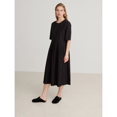 SKALL STUDIO -   Poet Dress - Black