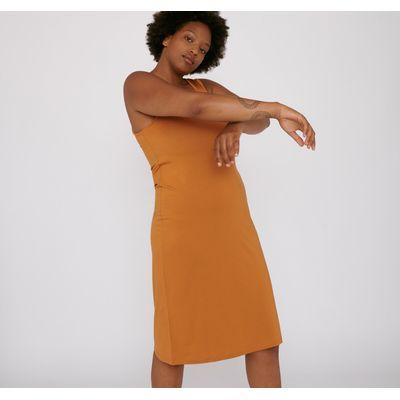 ORGANIC BASICS -TENCEL™ Lite Dress - Ocher