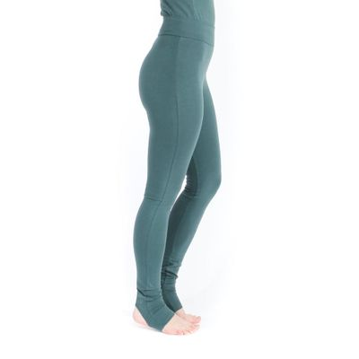 YOGAMII - Sadhana Long Tights - Hope Green