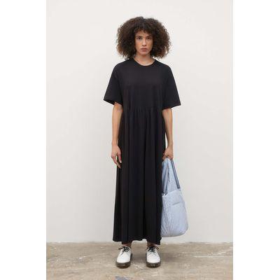 KOWTOW - RIB PANEL DRESS - BLACK