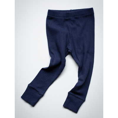 SIMPLE FOLK - The Ribbed Legging - Indico
