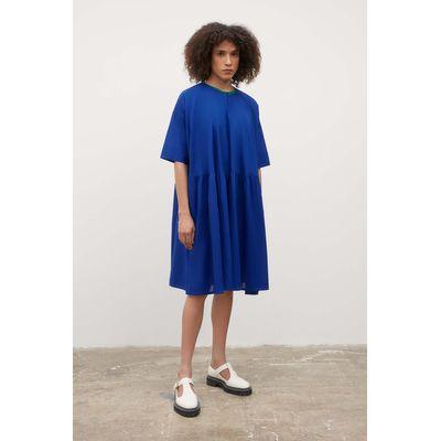 KOWTOW - SKETCHBOOK DRESS - CYAN